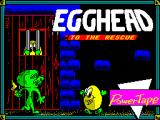 Egghead 2 ZX Spectrum Loading screen.