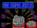 Non Compos Mentis ZX Spectrum Loading screen.