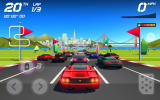 Horizon Chase: World Tour Android You always start at the back of the pack.
