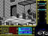 "Ninja Remix ZX Spectrum Level 4, ""The Basement"": Labyrinth of boxes.<br>