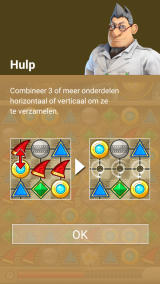 Knack's Quest Android The interactive tutorial with the doctor who created Knack (Dutch version)