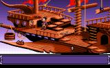 Goblins Quest 3 Amiga Level 1 - Blount starts his journey on his boat