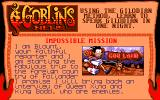 Goblins Quest 3 Amiga Blount as a reporter, during all his adventures is writing a story which can be read in any moment of the game.
