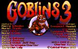 Goblins Quest 3 Amiga Title screen