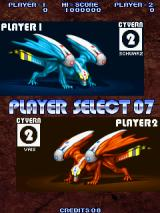 Cyvern: The Dragon Weapons Arcade Schwarz and Vais