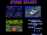 Shadow Force Arcade Selectorder of the first three stages