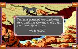 Conquests of Camelot: The Search for the Grail DOS As always, there are many ways to die...