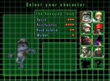 Crazy Frog Racer Windows Player selection screen