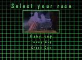 Crazy Frog Racer Windows Cup selection screen