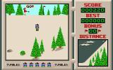 Downhill Challenge Amiga The start of a game