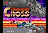 Thunder Cross Arcade Start screen