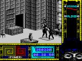 "Ninja Remix ZX Spectrum Level 6, ""The House"": Kitchen Elevator.<br>