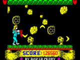 Gladiator ZX Spectrum Last level: Boomerangs.