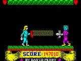 Gladiator ZX Spectrum Last level: Waves and soldiers.<br>