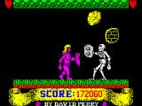 Gladiator ZX Spectrum Last level: Skeleton.<br>