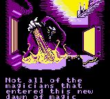Crystalis Game Boy Color Another wizard from intro
