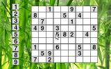 Sudoku86 DOS Game board