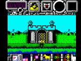 Hysteria ZX Spectrum Level 2: Medieval Ages.<br>