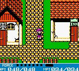 Crystalis Game Boy Color Nice, quiet town