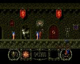 Stormlord Amiga Start of the fifth level. Again castle.