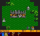 Heroes of Might and Magic Game Boy Color World view