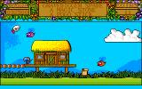 Treasure Island Dizzy Amiga Purple bees have gold coins. Do not ask me where they have them.