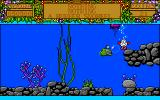 Treasure Island Dizzy Amiga What a cute little fish. We must become better acquainted.