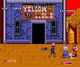 Double Dragon II: The Revenge Amiga Level 3 - This time I can also use small knives and shovels.