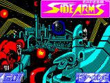 Side Arms Hyper Dyne ZX Spectrum Loading Screen.
