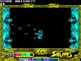 Side Arms Hyper Dyne ZX Spectrum Transition to level 2.<br>
