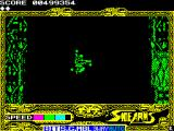 Side Arms Hyper Dyne ZX Spectrum Transition to level 3.<br>