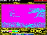 Side Arms Hyper Dyne ZX Spectrum Level 5: Hit.