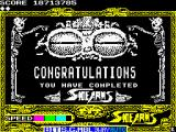 Side Arms Hyper Dyne ZX Spectrum Congratulations... ue...<br>