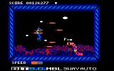 Side Arms Hyper Dyne Amstrad CPC Level 2: Centipedes.<br>