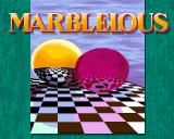 Marblelous Amiga Title screen