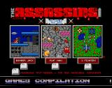 The Assassins: PD Games Volume 260 Amiga Main menu