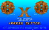 High Pressure II: X Fighters Amiga Main menu