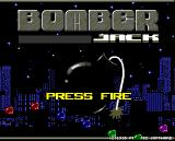 Bomber Jack Amiga Title screen
