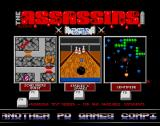 The Assassins: PD Games Volume 259 Amiga Main menu
