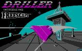 Space Station Oblivion DOS Loading screen (CGA)