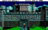 Hero's Quest: So You Want To Be A Hero DOS ...the castle...