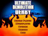 Ultimate Demolition Derby Windows Main menu