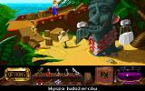 The Legend of Kyrandia: Hand of Fate DOS Cannibal island (Polish version) - you can get there if you DON'T do something...