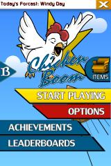 Chicken Boom Android Main menu (v1.5)