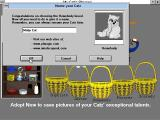 Catz: Your Computer Petz Windows 3.x Once adopted a cat must be named