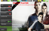 Real Football 2012 Android The main game modes
