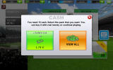 Real Football 2012 Android Options for spending cash