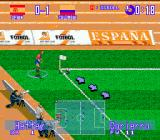 International Superstar Soccer Deluxe Genesis Corner Kick