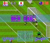 International Superstar Soccer Deluxe Genesis Red card! Bye bye...