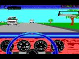 The Duel: Test Drive II Car Disk - The Muscle Cars DOS GTO dashboard